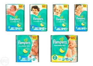 Продам оптом памперсы 'Pampers Active Baby GIANT PACK'